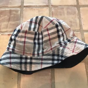 Authentic Burberry Bucket Hat One Size